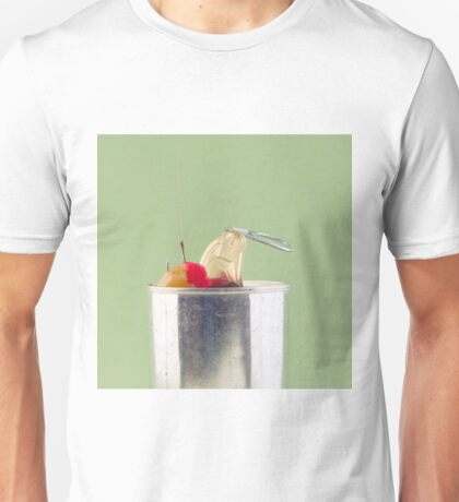 Hooked On Sugar; Canned Fruit Unisex T-Shirt