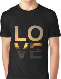 Love (Sunset edition) Graphic T-Shirt