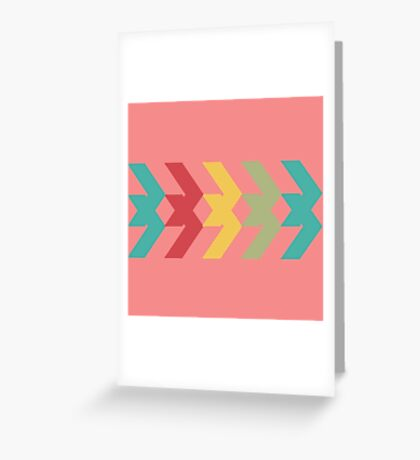 Arrows  Greeting Card