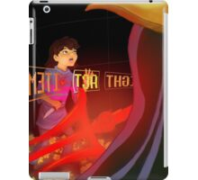 Human, it was nice to meet you iPad Case/Skin