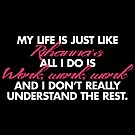 MY LIFE IS JUST LIKE RIHANNA'S ALL I DO IS WORK AND I DON'T REALLY UNDERSTAND THE REST by freakysteve