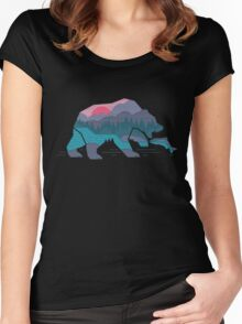 Bear Country Women's Fitted Scoop T-Shirt