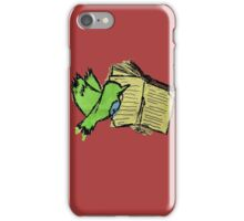 The Hummingbird Learned How to Read iPhone Case/Skin