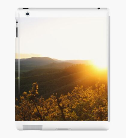 Sunset Over the Valley iPad Case/Skin