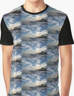 Brilliant Sunshine After the Snowstorm – a Winter Beach on Lake Ontario Graphic T-Shirt