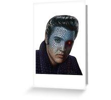 POP ART Elvis Greeting Card