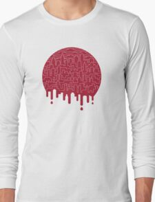 Painted Red Long Sleeve T-Shirt