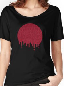 Painted Red Women's Relaxed Fit T-Shirt
