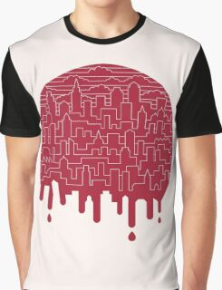 Painted Red Graphic T-Shirt