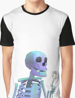 skeleton with wishes Graphic T-Shirt