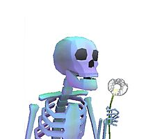 skeleton with wishes Photographic Print