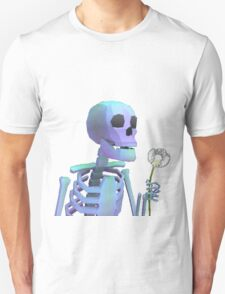 skeleton with wishes Unisex T-Shirt