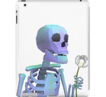 skeleton with wishes iPad Case/Skin