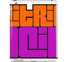 Citric Acid  iPad Case/Skin