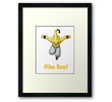 Pika Buu Framed Print