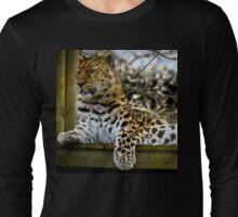 Leopard Watch Long Sleeve T-Shirt