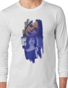 Regina Mills - brush effect Long Sleeve T-Shirt
