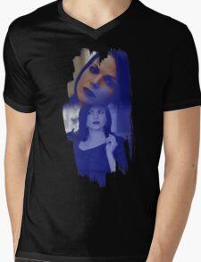 Regina Mills - brush effect Mens V-Neck T-Shirt