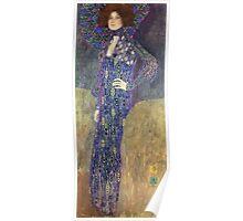 Gustav Klimt - Emilie Floege - Klimt -Woman Portrait Poster