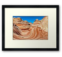 The Wave, North Coyote Buttes Framed Print
