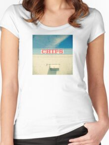 Chips Women's Fitted Scoop T-Shirt