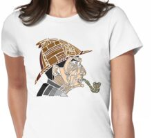 Stained-glass Sherlock Womens Fitted T-Shirt
