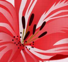 Lilienpracht - Blooming lilies Sticker