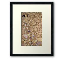 Gustav Klimt - Expectation - Klimt - Framed Print