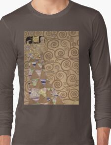 Gustav Klimt - Expectation - Klimt - Long Sleeve T-Shirt