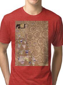 Gustav Klimt - Expectation - Klimt - Tri-blend T-Shirt