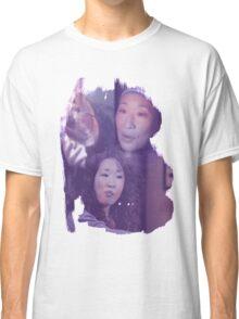 Cristina Yang - brush effect Classic T-Shirt