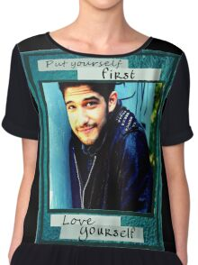 Posey quotes 1 Chiffon Top
