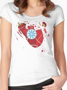 Ripped Reactor Women's Fitted Scoop T-Shirt