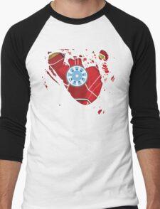 Ripped Reactor Men's Baseball ¾ T-Shirt