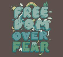 Freedom Over Fear Baby Tee