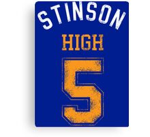 STINSON HIGH 5 (second version) Canvas Print