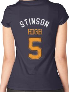 STINSON HIGH 5 (second version) Women's Fitted Scoop T-Shirt