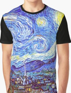 'The Starry Night' HDR Graphic T-Shirt