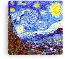 'The Starry Night' HDR Canvas Print