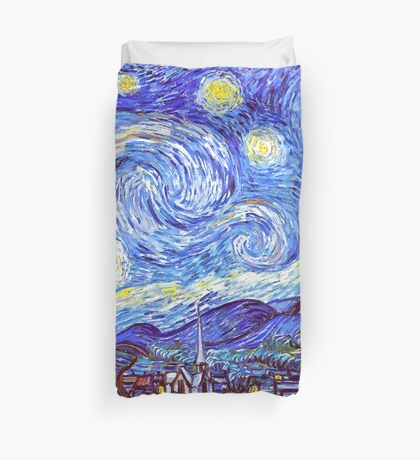 'The Starry Night' HDR Duvet Cover