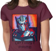 Optimist Prime! Womens Fitted T-Shirt