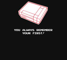 Always Remeber Your First Nintendo Gamer Unisex T-Shirt