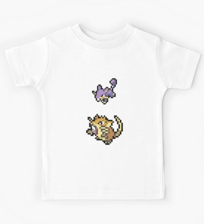 Raticate Evolution Kids Tee