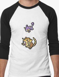 Raticate Evolution Men's Baseball ¾ T-Shirt