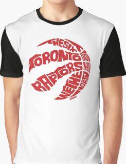 Toronto Raptors (Red) Graphic T-Shirt