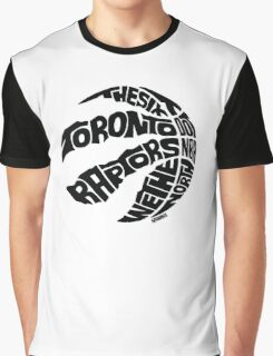 Toronto Raptors (Black) Graphic T-Shirt
