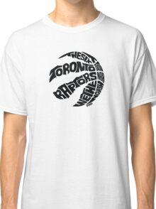 Toronto Raptors (Black) Classic T-Shirt