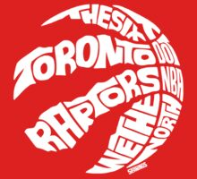 Toronto Raptors (White) One Piece - Short Sleeve