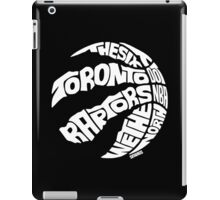 Toronto Raptors (White) iPad Case/Skin