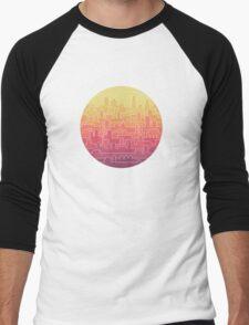 Skyline Men's Baseball ¾ T-Shirt